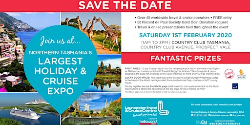 Northern Tasmania's Largest Holiday & Cruise Expo