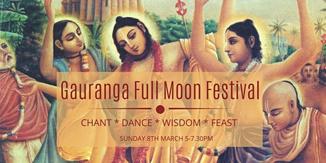 Gauranga Full Moon Festival tickets