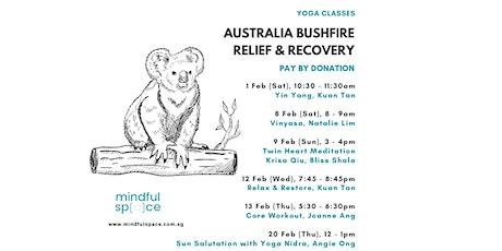 Australia Bushfire Relief & Recovery -  Core Workout tickets