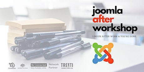 After Workshop 1: Joomla Content Management System tickets