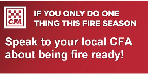 Upwey CFA - Street Corner Fire Information Session
