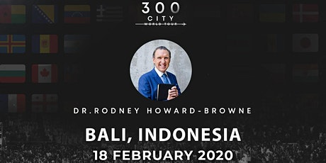 Rodney Howard-Browne in Bali, Indonesia tickets