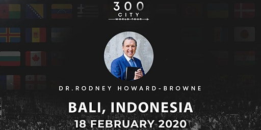 Rodney Howard-Browne in Bali, Indonesia