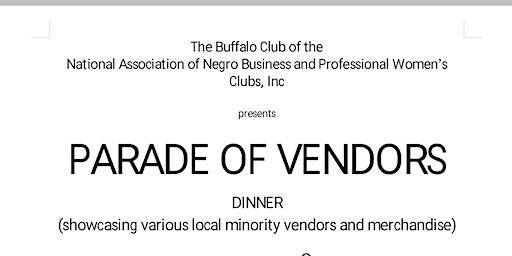 Parade of Vendors Dinner