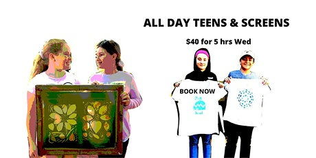All Day Teens and Screens tickets