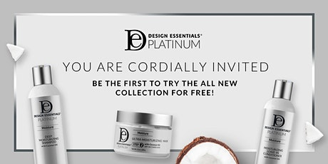Design Essentials® Platinum Party featuring the new Platinum Collection tickets