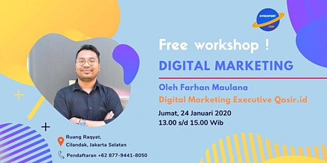 Workshop Digital Marketing tickets