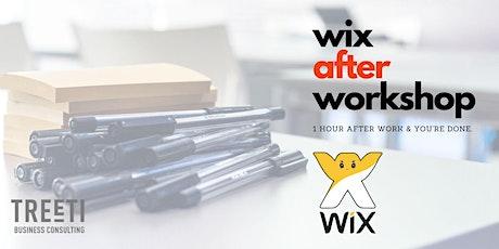 After Workshop 2: Wix Web Builder tickets