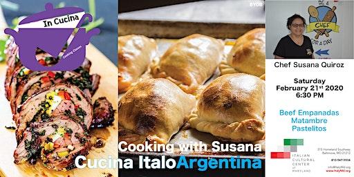 Cucina ItaloArgentina: cooking class with Susana
