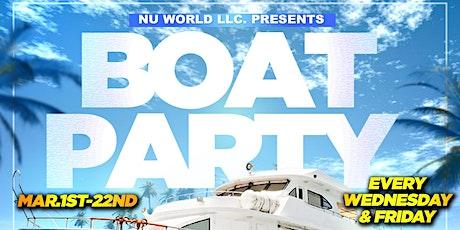 BOAT PARTY - Miami Spring Break (Wed. Mar11) tickets