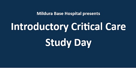 Introductory Critical Care Study Day March 2020 tickets
