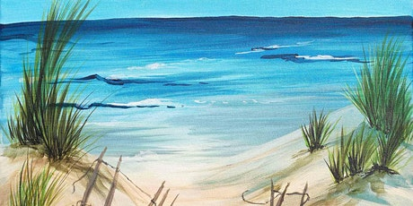 Life's a beach painting fundraiser tickets