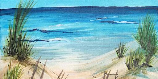 Life's a beach painting fundraiser