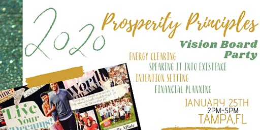Prosperity Principles Vision Board Party