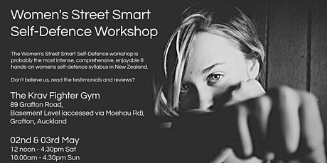 Women's Street Smart Self-Defence Workshop - Grafton, Auckland May 2020 tickets