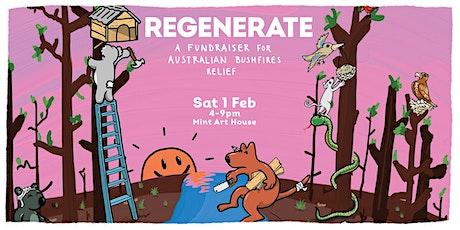 Regenerate Bushfire Fundraiser tickets