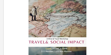 Travel & Social Impact: Wine & Workshop by Impact Travel Alliance tickets
