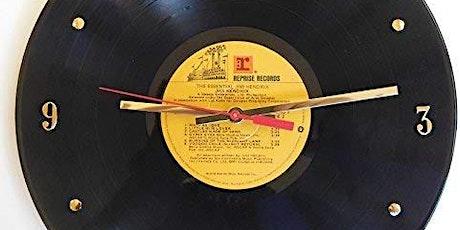 Vinyl Record Clock Workshop tickets