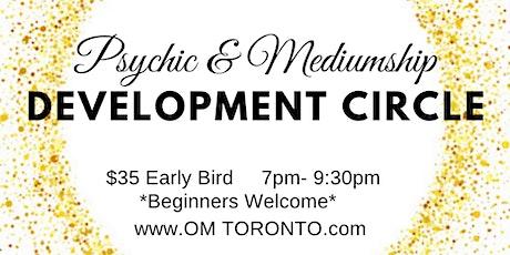 Psychic & Mediumship Development Circle tickets