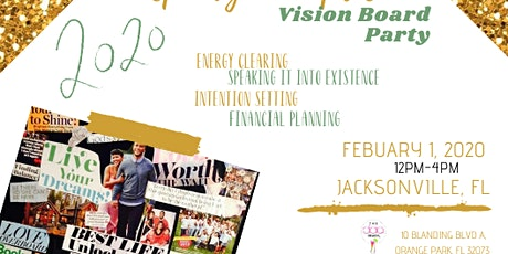 2020 Prosperity Principles Vision Board Party tickets