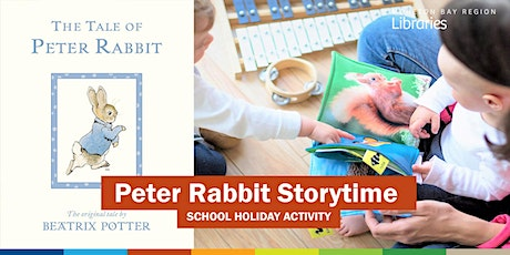 Peter Rabbit Storytime (3-5 years) - Bribie Island Library tickets