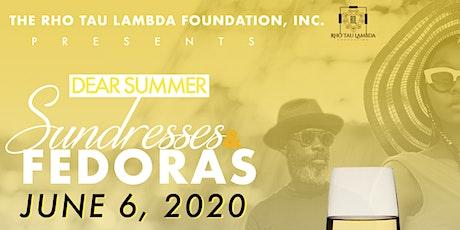 Dear Summer: Sundresses & Fedoras tickets