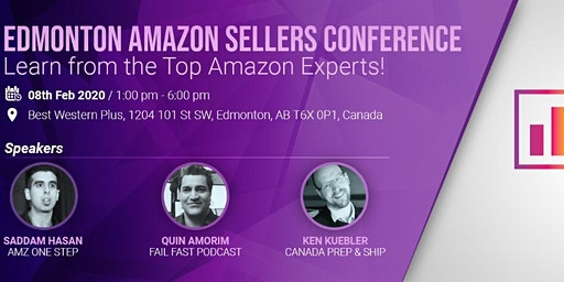 Edmonton Amazon Sellers Conference - Learn from the Top Amazon Experts!