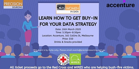 Women in Data | Learn how to get buy-in for your Data Strategy | Melbourne tickets