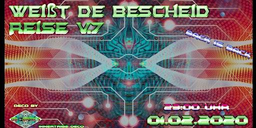 Weißt de Bescheid Reise V.7 - back is back