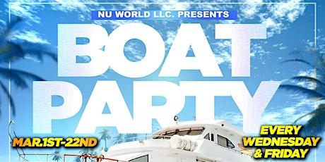BOAT PARTY -Miami Spring Break (Fri. Mar20) tickets