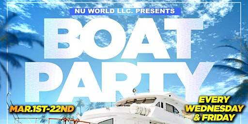 BOAT PARTY -Miami Spring Break (Fri. Mar20)