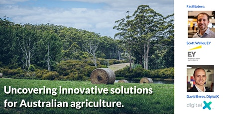 Uncovering innovative solutions for Australian agriculture.  tickets