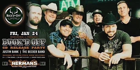 BUCK'D OFF (CD Release Party) w/ Justin Bank | The Becker Band tickets