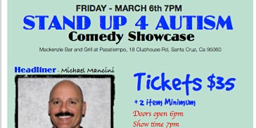 Stand Up For Autism - Comedy Showcase
