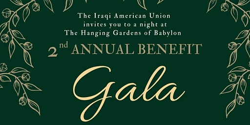 Iraqi American Union 2nd Annual Benefit Gala