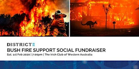 District32 Bushfire Support Social Fundraiser - Sat 01st Feb tickets