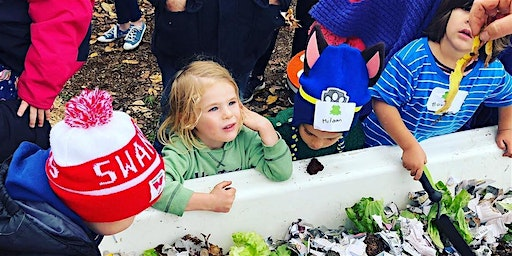 Little Sprouts Kids Gardening Workshop at Food Is Free Green Space 17/2