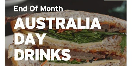 Australia Day Drinks tickets