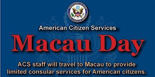 U.S. Consulate General - Macau Day February 2020