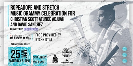 Grammy Celebration for Christian Scott aTunde Adjuah and David Sanchez tickets