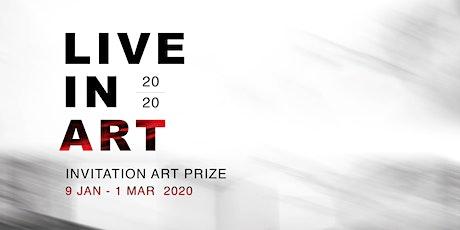 Award Night   Live in Art 2020 Invitation Art Prize tickets