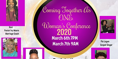 Coming Together As One Women's Conference Lake Nona Florida tickets