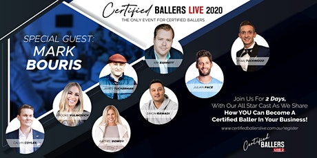 Certified Ballers Live 2 tickets
