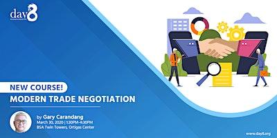 [NEW COURSE!] Modern Trade Negotiation