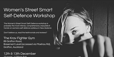 Women's Street Smart Self-Defence Workshop - Grafton, Auckland Dec 2020 tickets