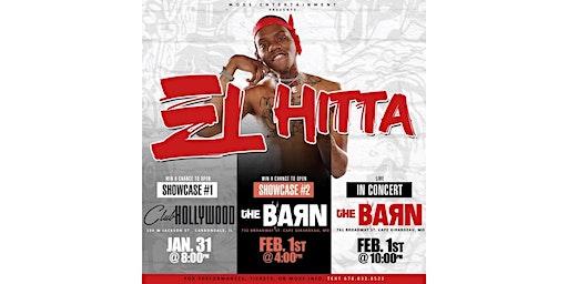 EL HITTA PERFORMING LIVE @ THE BARN
