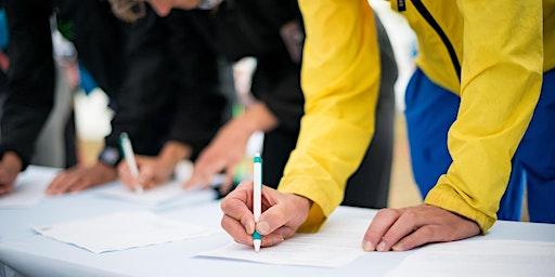 Kanab Kane Signing for Utah Tax Referendum at Honey's Marketplace