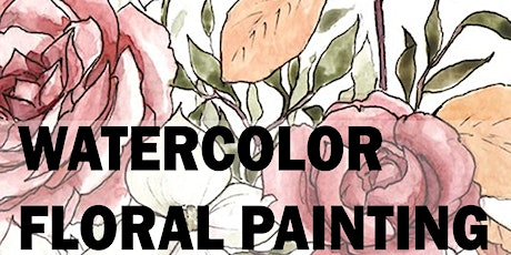 2 Hour Floral Watercolor Painting Workshop tickets