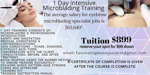 Microblading Training & Certification