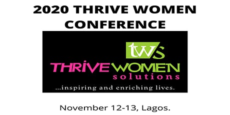 2020 THRIVE WOMEN CONFERENCE tickets